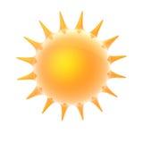 καμμένος ήλιος διανυσματική απεικόνιση