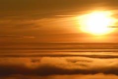 καμμένος ήλιος Στοκ Φωτογραφία