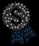 Καμμένος 2$α χαρακτηρισμένη τιμή πλέγματος με τα σημεία φλογών απεικόνιση αποθεμάτων
