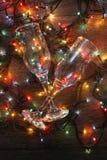 Καμμένος γυαλί γιρλαντών στοκ εικόνα με δικαίωμα ελεύθερης χρήσης