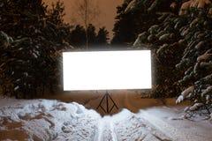 Καμμένος ορθογώνιο σημάδι Στοκ εικόνα με δικαίωμα ελεύθερης χρήσης