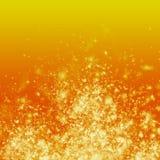 Πυρκαγιά στο πορτοκαλί υπόβαθρο Στοκ φωτογραφία με δικαίωμα ελεύθερης χρήσης
