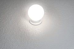 Καμμένος σφαίρα κρυστάλλου στο κατασκευασμένο υπόβαθρο με το διάστημα αντιγράφων οριζόντιο Στοκ εικόνα με δικαίωμα ελεύθερης χρήσης