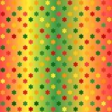 Καμμένος σχέδιο λουλουδιών Άνευ ραφής διανυσματικό υπόβαθρο κλίσης Στοκ φωτογραφία με δικαίωμα ελεύθερης χρήσης
