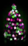 Καμμένος χριστουγεννιάτικο δέντρο Στοκ εικόνες με δικαίωμα ελεύθερης χρήσης