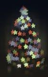 Καμμένος χριστουγεννιάτικο δέντρο Στοκ Φωτογραφία