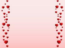 καμμμένες γραμμές καρδιών Στοκ φωτογραφία με δικαίωμα ελεύθερης χρήσης