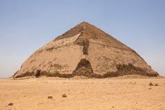 Καμμμένη πυραμίδα σε Dahshur Στοκ Εικόνες