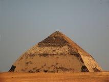 καμμμένη πυραμίδα Στοκ εικόνα με δικαίωμα ελεύθερης χρήσης