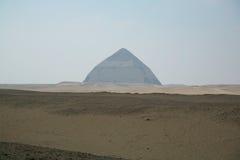 Καμμμένη πυραμίδα Dahshur Στοκ Φωτογραφία