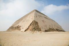 Καμμμένη πυραμίδα Sneferu Dahshur Στοκ Εικόνες