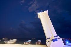 Καμμμένος Morelos φάρος Μεξικό Puerto Στοκ φωτογραφία με δικαίωμα ελεύθερης χρήσης