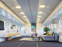 Καμπίνα αεροπλάνων Στοκ Εικόνες