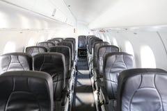 Καμπίνα αεροσκαφών ενός αεροπλάνου Στοκ Εικόνες