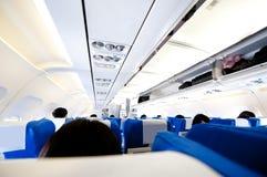 καμπίνα αεροσκαφών στοκ φωτογραφία με δικαίωμα ελεύθερης χρήσης