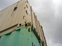 Καμπίνα εμπορευματοκιβωτίων Στοκ εικόνα με δικαίωμα ελεύθερης χρήσης