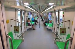 Καμπίνα μετρό Στοκ εικόνα με δικαίωμα ελεύθερης χρήσης