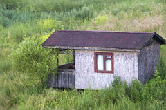καμπίνα παλαιά Στοκ Εικόνες