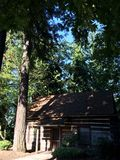 Καμπίνα στα δάση Στοκ φωτογραφία με δικαίωμα ελεύθερης χρήσης