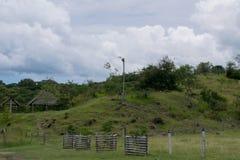 Καμπίνα στους λόφους Στοκ φωτογραφία με δικαίωμα ελεύθερης χρήσης