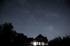 Καμπίνα τη νύχτα Στοκ φωτογραφία με δικαίωμα ελεύθερης χρήσης