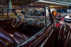 Καμπίνα του αυτοκινήτου Buick Roadmaster φυσικού μεγέθους μετατρέψιμο, 1938 Στοκ φωτογραφίες με δικαίωμα ελεύθερης χρήσης