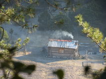 Καμπίνα Tarahumara Στοκ εικόνες με δικαίωμα ελεύθερης χρήσης