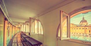 Καμπίνες στα λουτρά Στοκ εικόνες με δικαίωμα ελεύθερης χρήσης