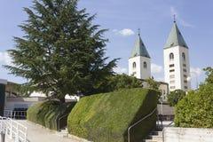 Καμπαναριά Αγίου James σε Medjugorje ι Στοκ εικόνες με δικαίωμα ελεύθερης χρήσης