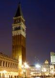 Καμπαναριό Βενετία πλατειών SAN Marco Στοκ εικόνες με δικαίωμα ελεύθερης χρήσης