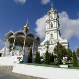 Καμπαναριό σε Pochaev Lavra Στοκ εικόνες με δικαίωμα ελεύθερης χρήσης