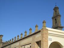 Καμπαναριό στην εκκλησία Antequera Στοκ εικόνα με δικαίωμα ελεύθερης χρήσης