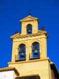 Καμπαναριό στην εκκλησία Antequera Στοκ Εικόνες