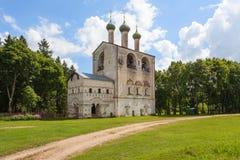 Καμπαναριό στο μοναστήρι Borisoglebsky, περιοχή Yaroslavl, της Ρωσίας Στοκ φωτογραφίες με δικαίωμα ελεύθερης χρήσης