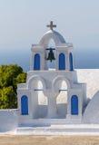 Καμπαναριό στο νησί Santorini Στοκ Φωτογραφία