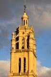 Καμπαναριό της εκκλησίας της Σάντα Μαρία, Los Arcos, Ναβάρρα (Ισπανία) Στοκ Φωτογραφίες