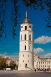 Καμπαναριό του καθεδρικού ναού Vilnius Στοκ φωτογραφία με δικαίωμα ελεύθερης χρήσης