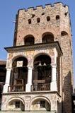 Καμπαναριό του μοναστηριού Αγίου Ivan Rila Στοκ εικόνα με δικαίωμα ελεύθερης χρήσης