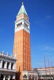 Καμπαναριό του σημαδιού του ST στη Βενετία, Ιταλία Στοκ Εικόνες