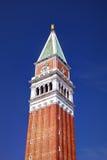 Καμπαναριό του σημαδιού του ST στη Βενετία, Ιταλία Στοκ Εικόνα