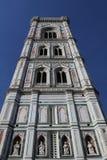Καμπαναριό Giotto ` s στη Φλωρεντία Duomo στοκ εικόνες με δικαίωμα ελεύθερης χρήσης