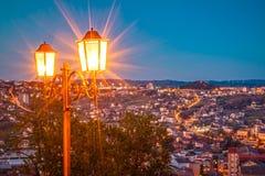 Καμπομπάσσο στη νύχτα Στοκ Φωτογραφία