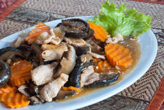 καμποτζιανά τρόφιμα khmer Στοκ Φωτογραφίες
