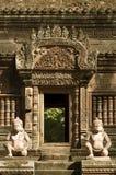 Καμποτζιανές καταστροφές ναών Στοκ φωτογραφία με δικαίωμα ελεύθερης χρήσης