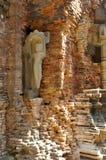 Καμποτζιανές καταστροφές ναών Στοκ εικόνες με δικαίωμα ελεύθερης χρήσης