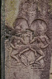 Καμποτζιανές σκηνές 21 ναών Στοκ φωτογραφίες με δικαίωμα ελεύθερης χρήσης