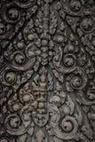 Καμποτζιανή γλυπτική στην πέτρα στοκ εικόνα με δικαίωμα ελεύθερης χρήσης
