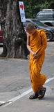 καμποτζιανός μοναχός Στοκ Φωτογραφίες