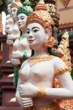 καμποτζιανός ναός γλυπτών apsara Στοκ εικόνες με δικαίωμα ελεύθερης χρήσης