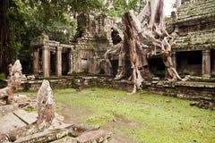 καμποτζιανός ναός Στοκ Εικόνες